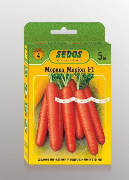 Семена на ленте Морковь Марион F1