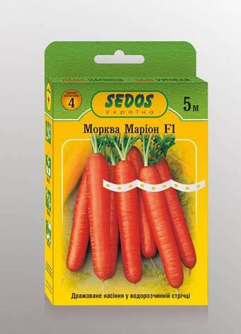 Семена на ленте Морковь Марион F1, фото 2