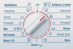 Переклад режимів прання і інших функцій