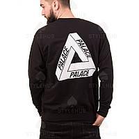 Palace skateboard свитшот   Черный цвет   Бирка оригинал, фото 1