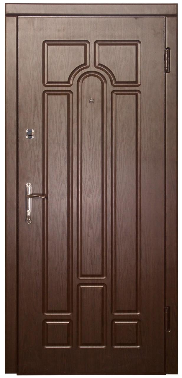 Металлические входные двери Форт Арка МДФ эконом