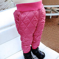 Штаны детские зимние теплые. Не промокаемые. 4 расцветки, фото 3