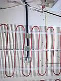 Маты для теплых полов. Нагревательный мат DEVImat T-150  8 м2. Монтаж, фото 3