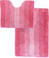 Набор ковриков для ванной комнаты «МАХРАМАТ» (розовый)