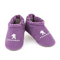Домашні тапочки комфортний Пежо фіолетові багіра, фото 1