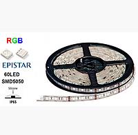LED лента LEDSTAR /SMD 5050/ 60 LED на метр/IP65/12V/RGB