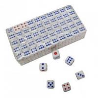 Кубики игральные 10н (100 шт.) 10 мм