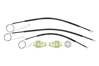 Ремкомплект механизма стеклоподъемника передней левой двери Citroen Xsara Picasso 1997-2011