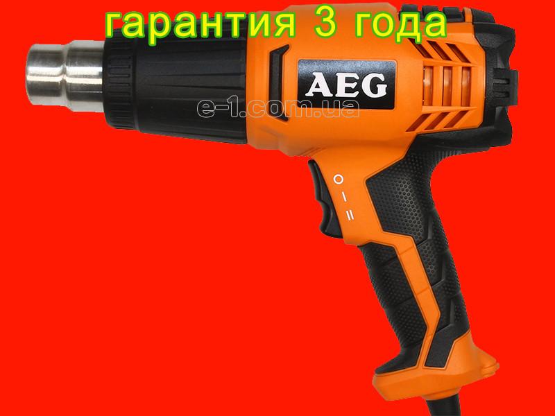 Будівельний фен AEG HG 560 D