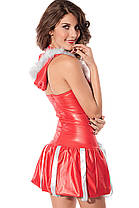 Новогоднее платье с капюшоном, фото 2