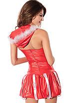 Новогоднее платье с капюшоном, фото 3