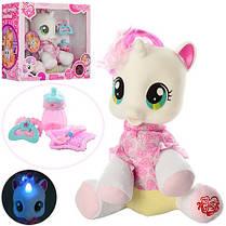Лошадка Пони 83097 My Little Pony.Рог светится. Бутылочка, соска, ложечка, тарелочка, фото 2