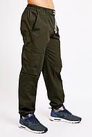 Брюки карго (cargo) мужские милитари олива Ястреб