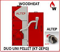 Пелетный  котел ALTEP DUO UNI PELLET 15 кВт(KT-2EPG) + Горелка ALTEP
