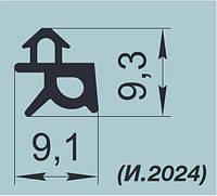 """Уплотнители резиновые для оконных систем """"REHAU"""" K001 и K001/1"""