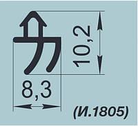 """Уплотнители резиновые для оконных систем  """"REHAU"""" K002 и K002/1"""