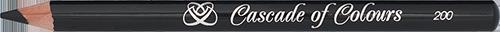 Карандаш для глаз Cascade of Colours 200 (черный)