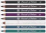 Карандаш для глаз Cascade of Colours 200 (черный), фото 2