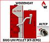 Пелетный  котел ALTEP DUO UNI PELLET 21 кВт (KT-2EPG) + Горелка ALTEP