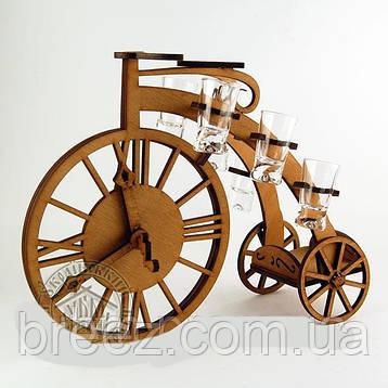 Рюмочный набор Ретро велосипед, фото 2