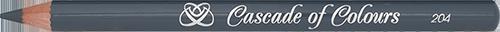 Карандаш для глаз Cascade of Colours 204 (серый)