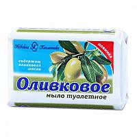 Мыло туалетное Оливковое твердое, 90 гр, Невская косметика