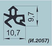 """Уплотнители резиновые для оконных систем """"SALAMANDER"""" K003 и K003/1"""