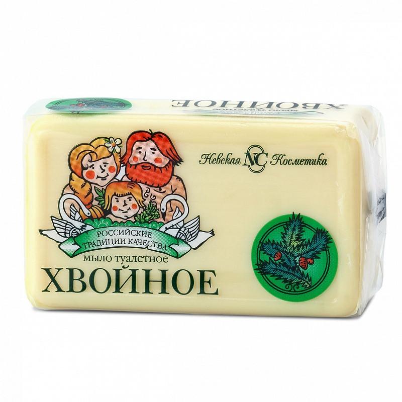 Хвойное мыло туалетное Невская Косметика 140 г. (10194)