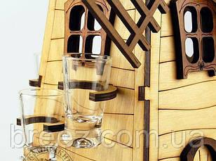 Рюмочный набор Мельница, фото 3
