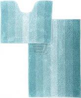 Набор ковриков для ванной комнаты «МАХРАМАТ» (бирюзовый)