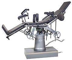Стол операционный МТ100 (универсальный, механико-гидравлический, мост для почек)