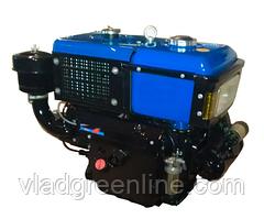 Двигатель ZUBR SH195NDL (дизель, электростартер, водяное охлаждение, 12 л.с.)