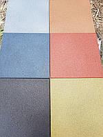 Резиновая плитка резиновое покрытие для площадок спортзалов дорожек