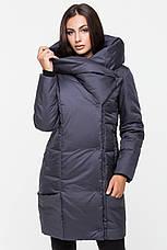Зимняя куртка женская Kattaleya KTL-123 цвета темный графит (#596), фото 2