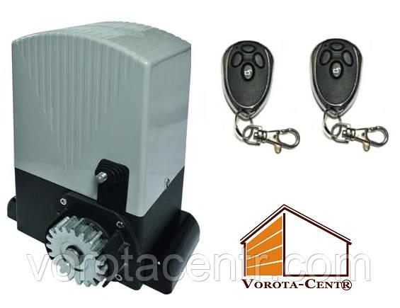 Повний комплект електродвигуна An-Motors ASL2000KIT для воріт до 2000 кг