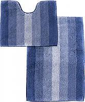 Набор ковриков для ванной комнаты «МАХРАМАТ» (синий)
