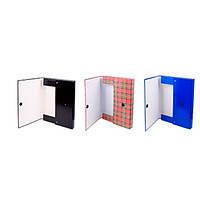 Папка-бокс Item картонная объемная на липучке 3,5 см