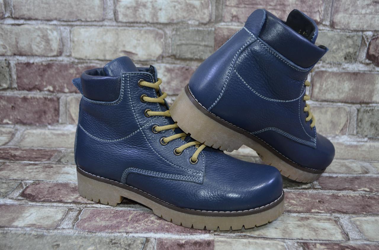 175f3c46664f Мужские зимние высокие классические ботинки (сапоги) Viva Вива, натуральная  кожа
