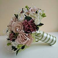 Букет дублёр в цвете пудра