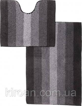 Набор ковриков для ванной комнаты «МАХРАМАТ» (черный), фото 2