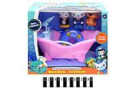 """Набор игрушек """"Octonauts"""" с ванной в кор. 27*20*15 см. /48/"""