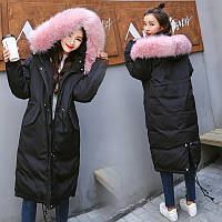 Моднейший женский пуховик - пальто. Зимний, Новейшая модель Commute 2017-18 г.)