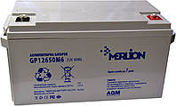 Аккумулятор мультигелевый MERLION GP12-65 12V 65AH (AGM), фото 1