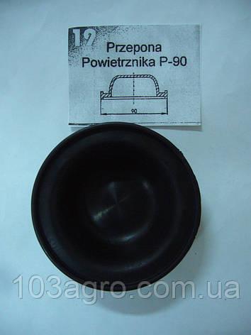 Мембрана насоса повітряна 19 PP-100 Zefirek, PP-120, PP-140, PP-160, PP-200 TAD-LEN, фото 2