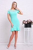 Нарядное платье с коротким рукавом, фото 1