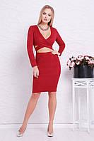 Замшевое платье с вырезом на талии, фото 1