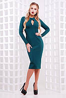 Платье миди с вырезом на груди, фото 1
