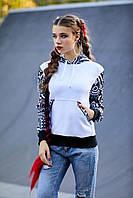 Теплая женская кофта с капюшоном, фото 1
