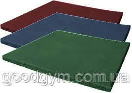 Разноцветная  резиновая плитка, размером 500х500х40мм, фото 2