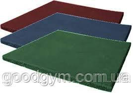 Резиновая плитка, размером 500х500х40мм, фото 2